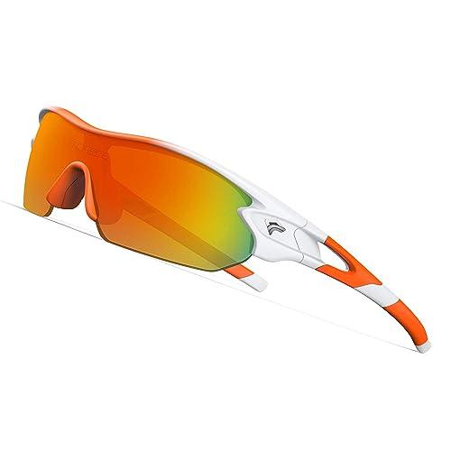 9a62af7fd3b9 TOREGE Grilamid Tr90 Flexible Kids Sports Sunglasses Polarized Glasses for  Junior Boys Girls Age 3-