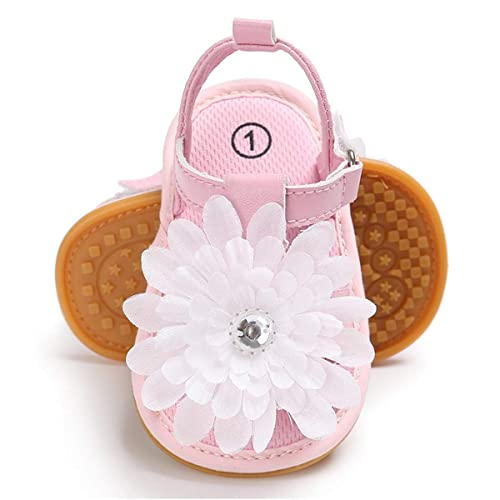 de593cca9500e Buy BENHERO Infant Baby Girls Sandals, Premium Soft Rubber Sole Anti ...