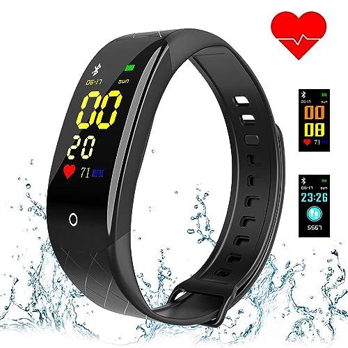 Buy Coolhills Fitness Tracker HR, IP67 Waterproof Activity