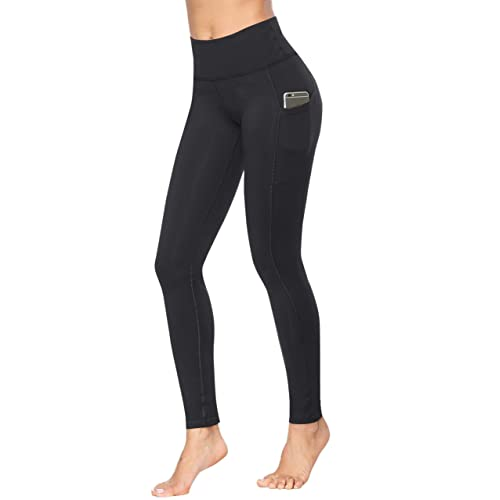 6ae26167a1f884 Fengbay High Waist Yoga Pants, Pocket Yoga Pants Tummy Control Workout  Running 4 Way Stretch